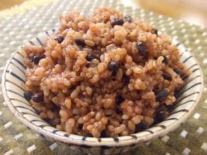 玄米食!!