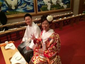 小林さん結婚式の様子~2