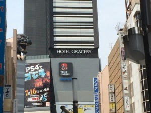 新宿・歌舞伎町にて!!