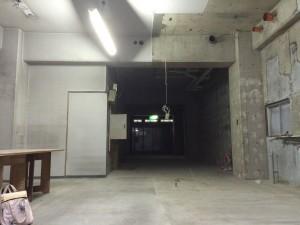 美容室開業の仕方・3店舗目の出店~内装工事の様子①