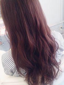 夏の暖色は淡く、やわらかく、がかわいい★モーブピンク