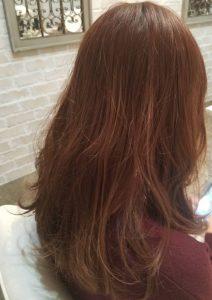 ツヤ髪に見せてくれる色☆