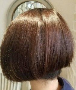 色が抜けた髪ほどキレイに色味を再現!!