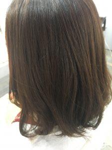 ★★既縮毛の毛先を柔らか~く見せる★★