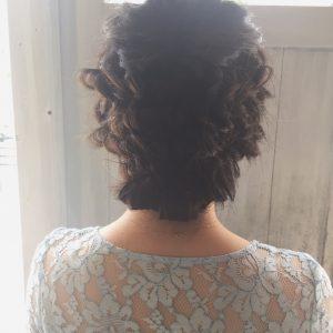 特別な日のヘアセット♪