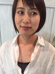 前髪でイメチェンしましょう(*^^*)