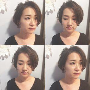 前髪長めショートもふんわりが叶います(*^-^*)