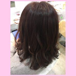 ★★くすみピンク×簡単スタイリングの前髪パーマ★★