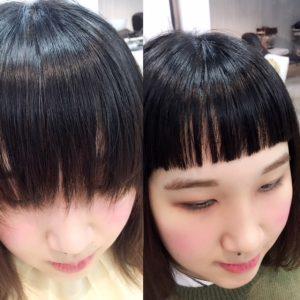 ♪前髪カットでイメージチェンジ♪