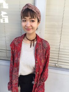 前髪でイメージ!!変わる!!