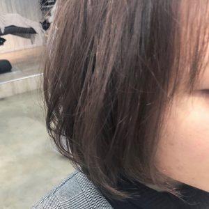 暗髪▽春のくすませベージュ▽