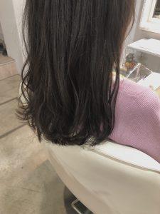 暗髪▽おしゃれな透け感カラー▽
