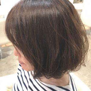 nakai◇ふわっとパーマで簡単に女っぽいヘアに。◇