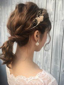 ★★短くても出来る♪結婚式のヘアアレンジ♪★★