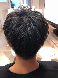 men's∇色気を感じるツヤ髪マッシュ∇