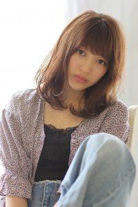 nakai◇顔周りの髪の毛で変わる!◇