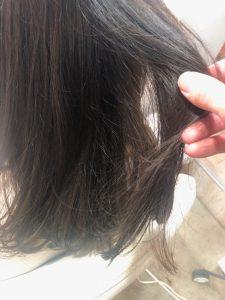 オレンジに抜ける髪に∇くすみベージュがお悩み解決∇