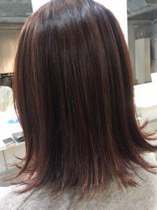 ♪髪がキレイに見えるツヤツヤカラー♪