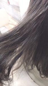 地毛風ネイビーカラーで透明感しかない髪に☆