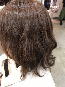 冬のヘアカラー☆