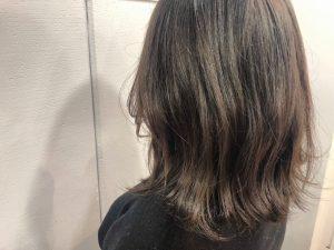 モードヘア∇色っぽい暗髪ハイライト∇