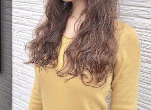 少しの個性を。。おしゃれパーマスタイル(*^^*)