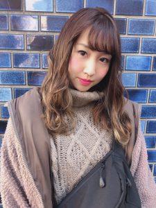 ★★冬のファッションに馴染む♪グラデーションカラー★★