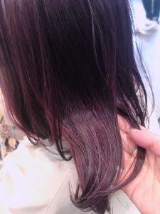 ハイライト×ピンクカラーでテンションがあがる髪に☆
