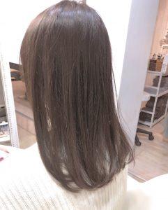 汗かく季節がくる前に!縮毛矯正でサラツヤ髪へ。。♪(*^‐^*)
