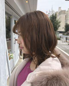直毛の方のお悩み改善。。♪