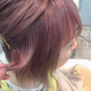 ほんのりラベンダーなピンクが可愛いです(*^^*)