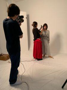 青山のスタジオで撮影♪♪