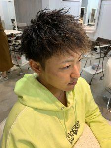 ツイストパーマ(前髪おろし)スタイル☆