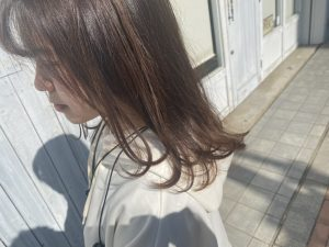 春カラー∇おしゃれな場所にはおしゃれな髪型∇