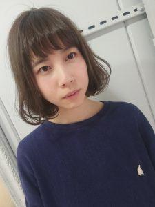 *お客様snap☆春色ミントアッシュ*